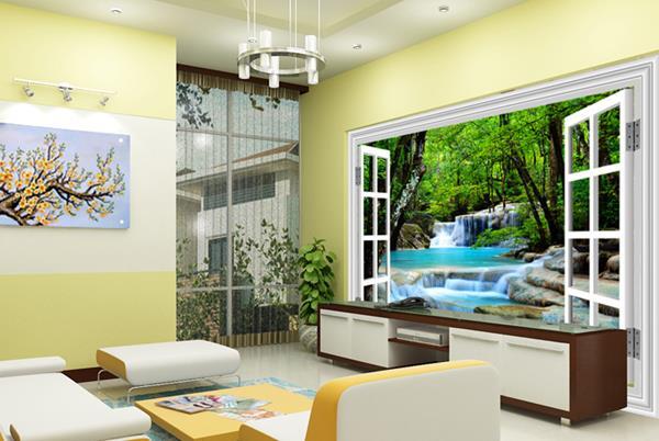 Gach Tranh Op Tuong Phong Khach 3d 2