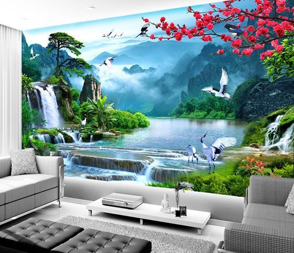 Gach Tranh Op Tuong Phong Khach 3d 23